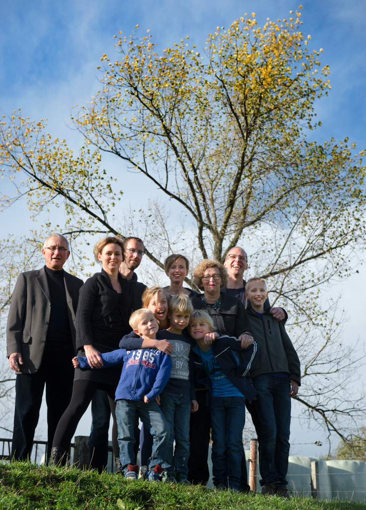 Familie Span-den Teuling op Veldzigt